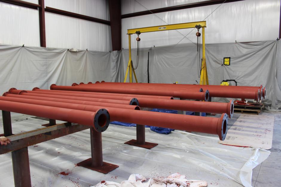 Permox CTF™Coated Pipes