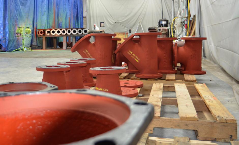 Pipes Post Permox CTF™ Coating Process